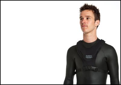 Revival vest uses smart fabric technology to monitor respiration and changes to the body which can occur during drowning.