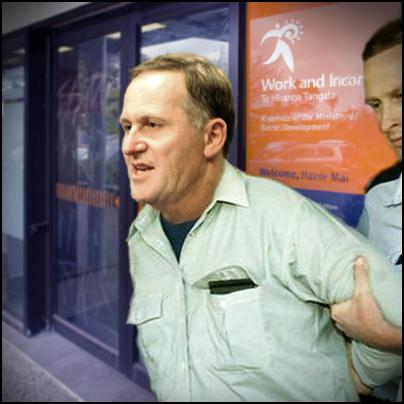 john key being