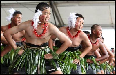 Tongan Dance - St Paul's College (Day 4)