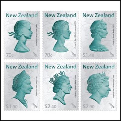 60th Wedding Anniversary Gifts New Zealand : ... the changing portrayals of QueenElizabeth II on New Zealand coins