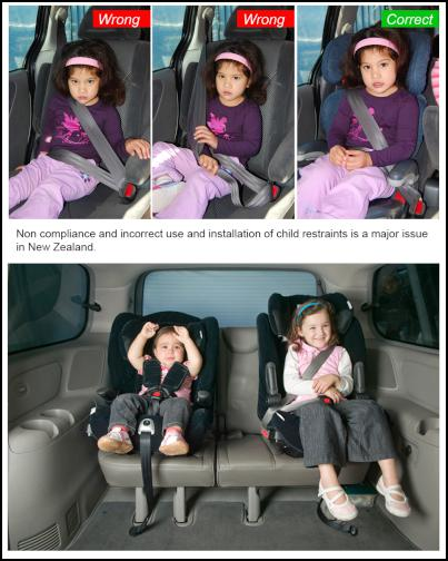 child safety advocates today acknowledged that the new car seat law requiring kids to use an appropriate child restraint up