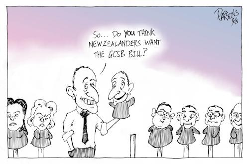 Key: So, do YOU think New Zealanders want the GCSB Bill?