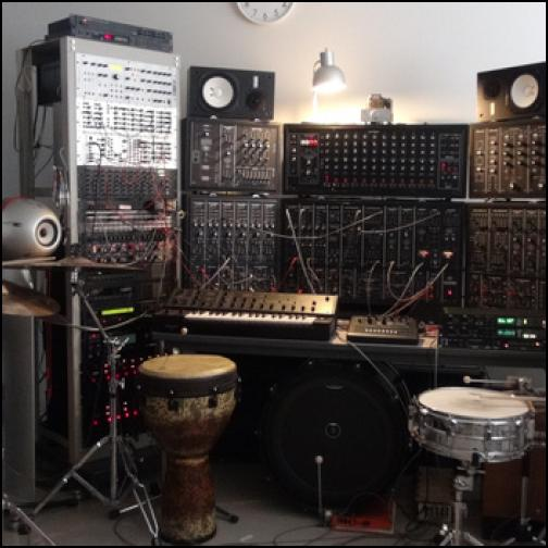 Robotic Drum Set and Analog Bass