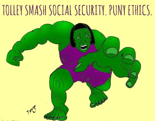 Tolley Smash Social Security