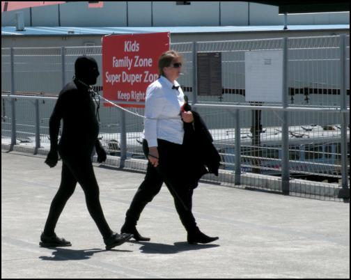 wellington sevensbest use of morph suit ever
