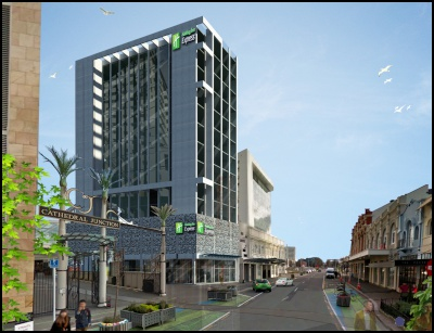 The Conversion Of Former Goldridge Resort And A New Build 120 Room Holiday Inn Express Hotel In Christchurch City Centre To Open 2018