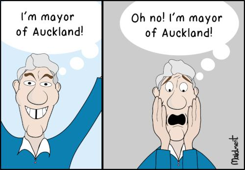 Phil Goff: I'm Mayor of Auckland!