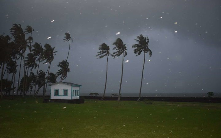 Tropical Cyclone Gita hits Tonga overnight destroying and flooding homes