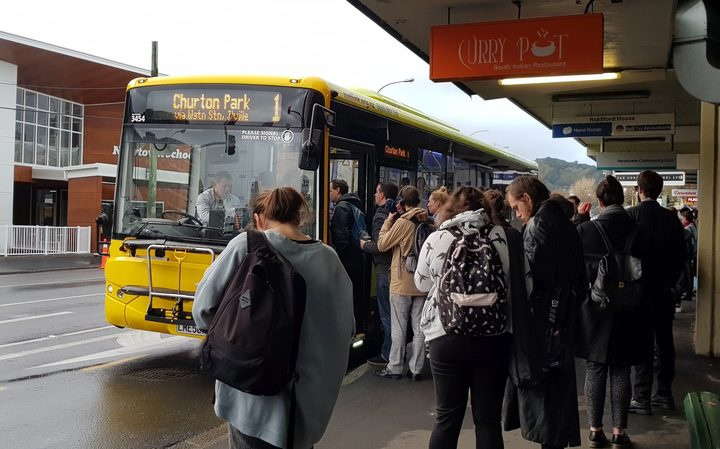 The man who helped create the controversial Wellington bus network has defended the plans. Photo: RNZ / Emma Hatton