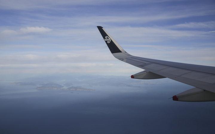 Air New Zealand plane Photo: RNZ / Rebekah Parsons-King