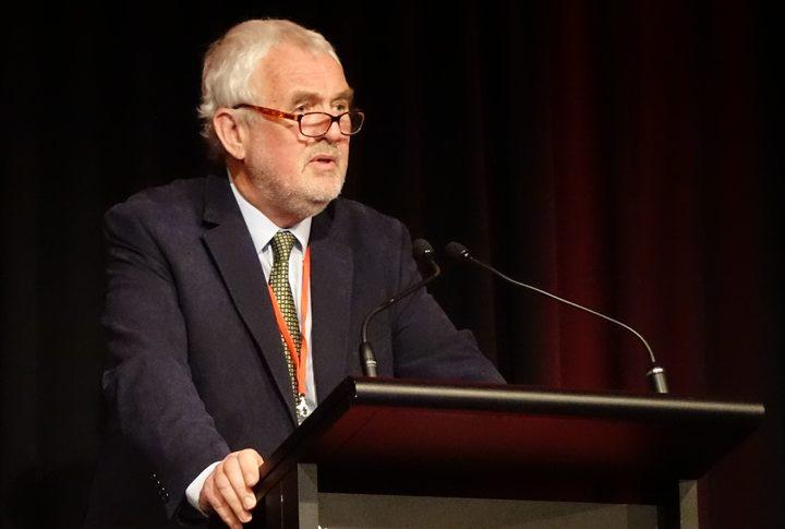 Labour Party president Nigel Haworth (file photo) Photo: RNZ / Chris Bramwell