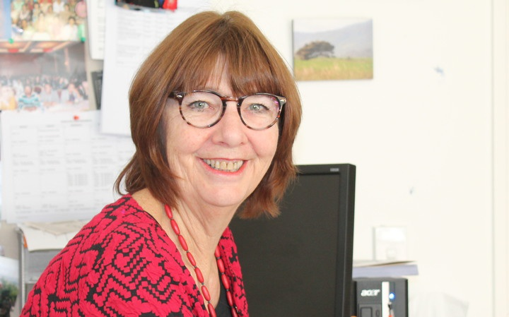 The CEO of the College of Midwives, Karen Guilliland Photo: Katy Gosset/RNZ