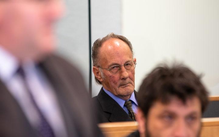 Stewart Murray Wilson in court