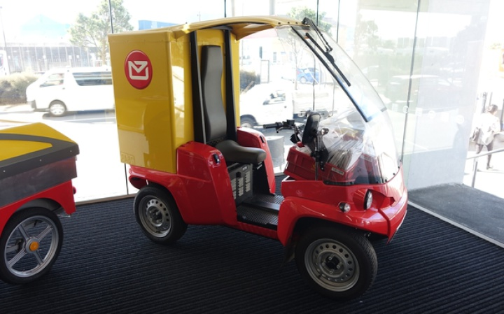 NZ Post Paxster delivery vehicle