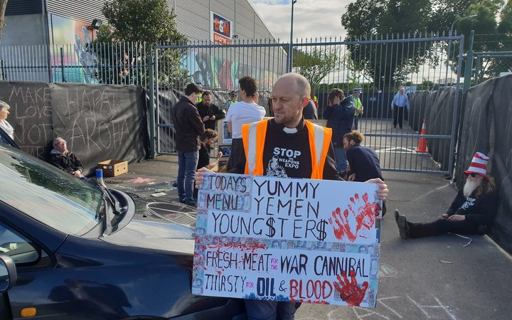 Placard: Today's Menu / Yummy Yemen Young$ter$ / Fresh meat for the war cannibal thirsty for oil and blood