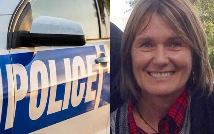 a police car, Louise Nicholas