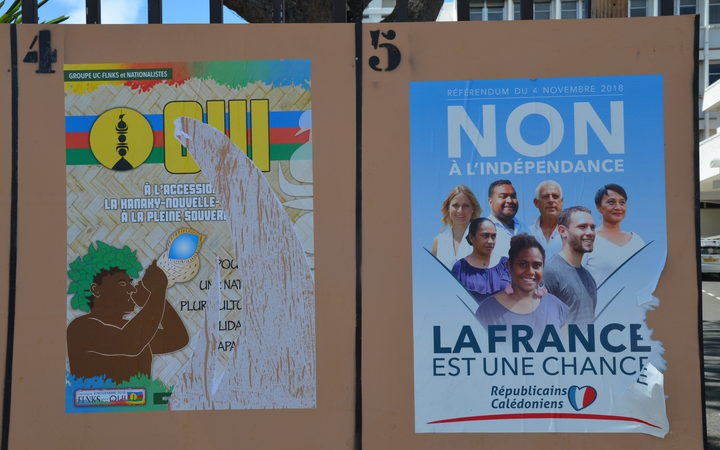 Oui and Non election posters
