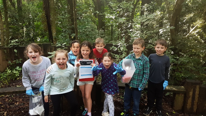 Woodleigh School students are trapping and monitoring predators and biodiversity on their school grounds, as part of Towards Predator-Free Taranaki.