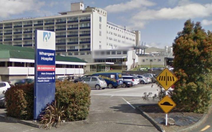 Whangārei Hospital from street entrance