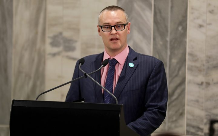 Health Minister David Clark. Photo: RNZ / Rebekah Parsons-King