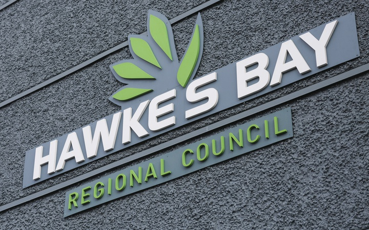 Hawke's Bay Regional Council sign