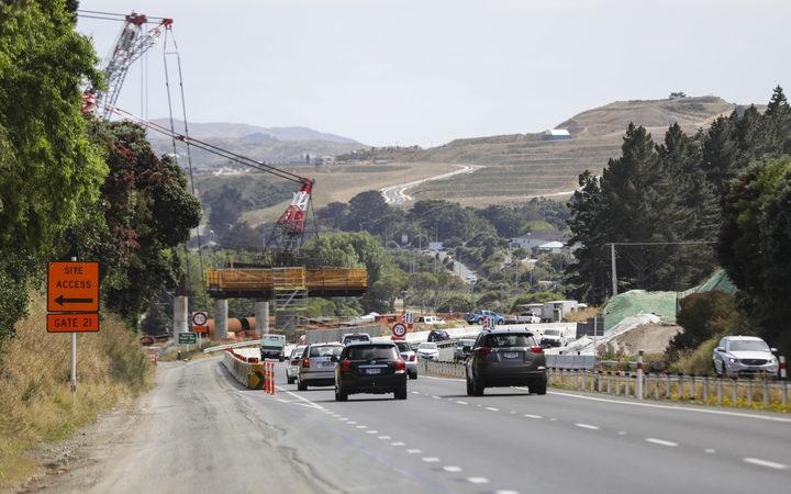 construction work around a highway