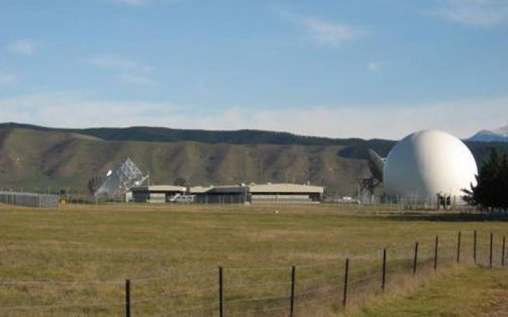 The Government Communications Security Bureau (GCSB)'s spy base at Waihopai, near Blenheim. Photo: SUPPLIED