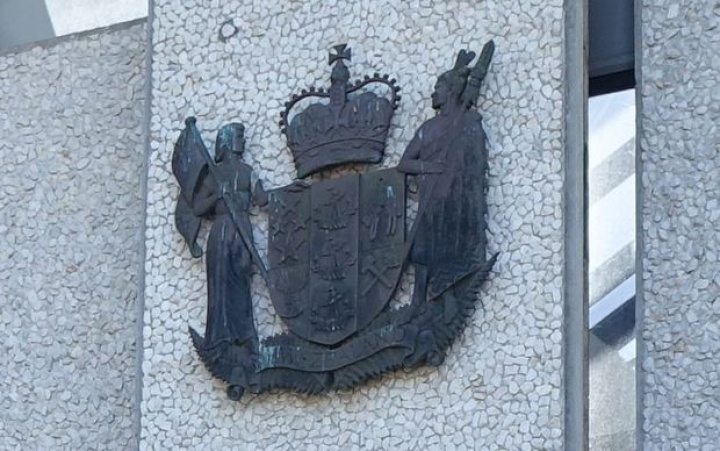 The outside of a