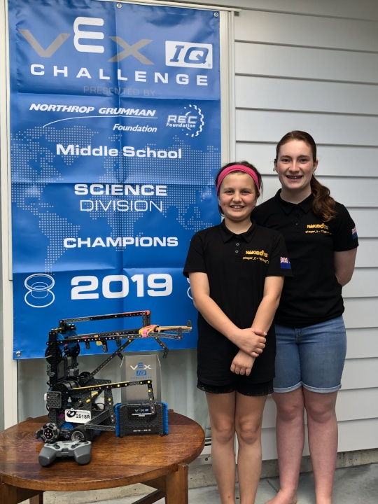 Girl Powered Kiwi robotics team crowned best in the World | Scoop News
