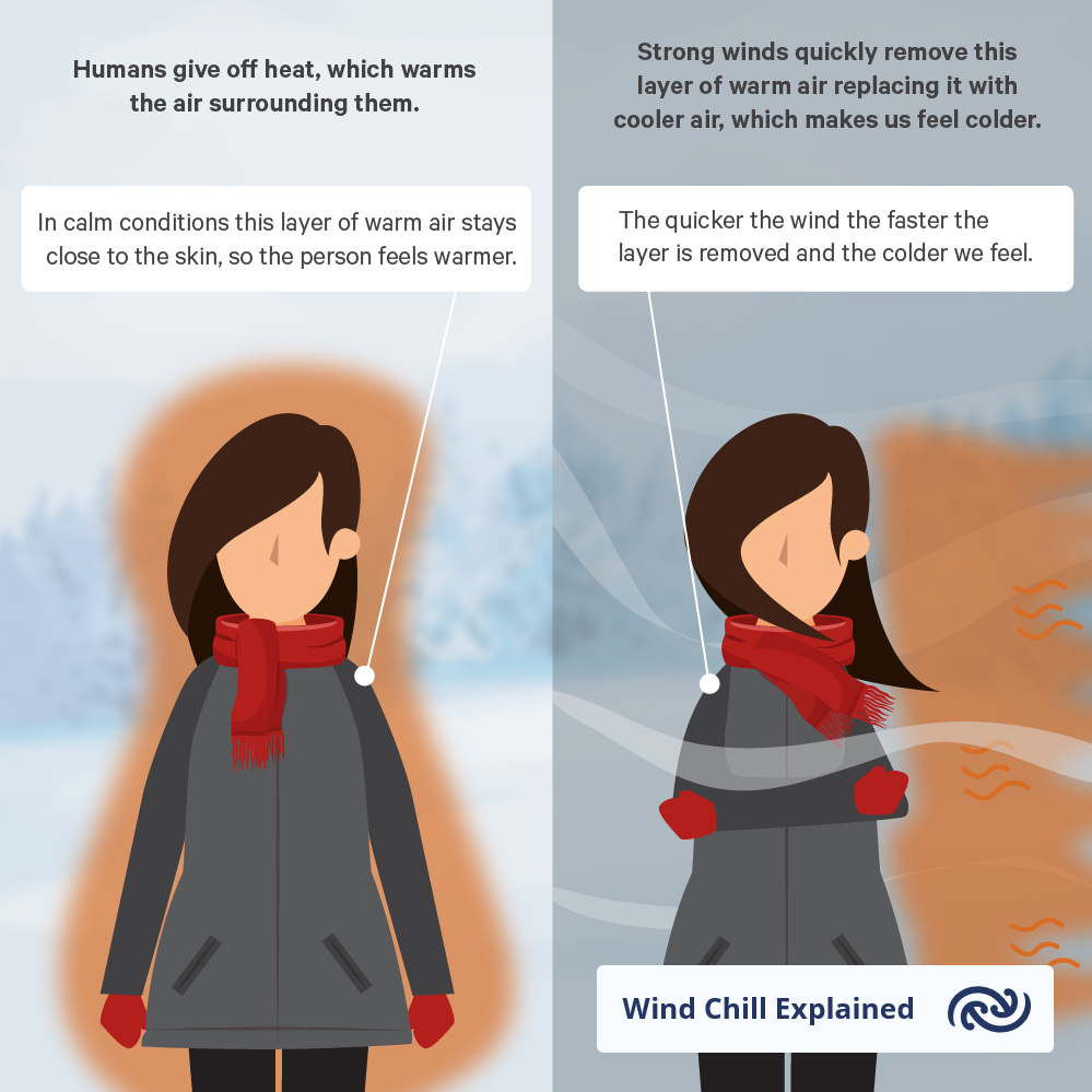 wind chill explained