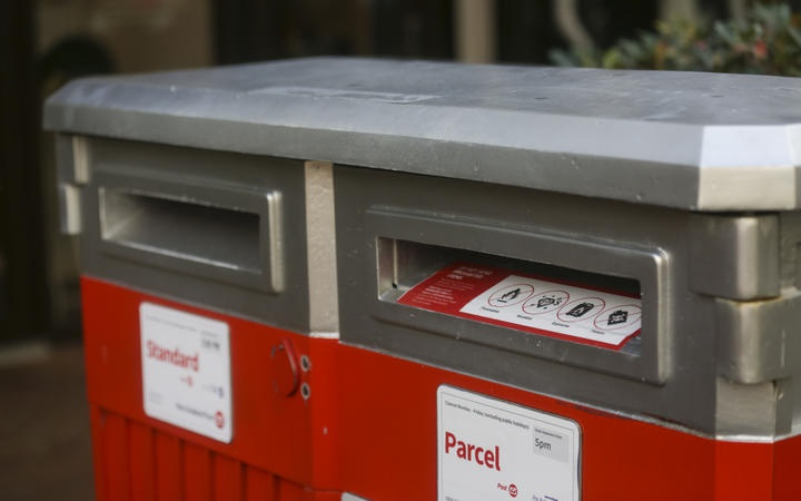 NZ Post mail boxes