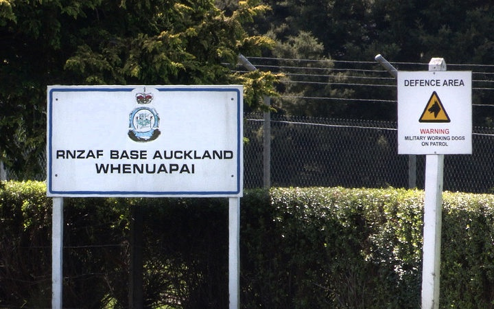 sign for RNZAF Base Auckland Whenuapai