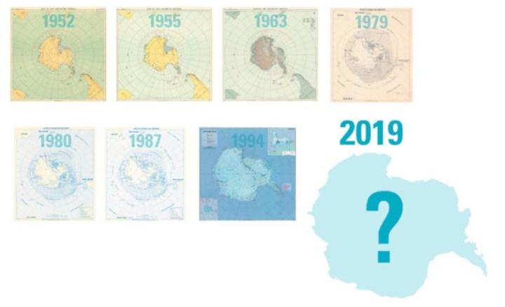 Antarctic Treaty 60th anniversary gift