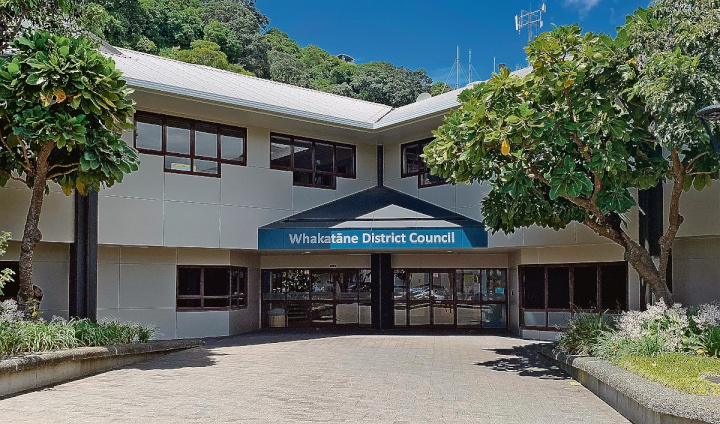 Whakatane District Council buildings